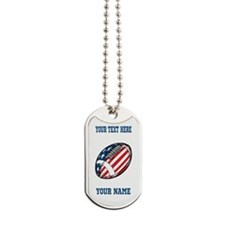 American Football - Personalized Dog Tags