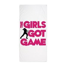 GOT GAME, VOLLEYBALL Beach Towel