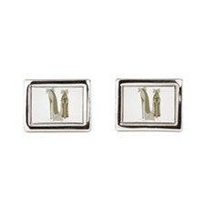 Wedding High Heel Stilettos Art Cufflinks