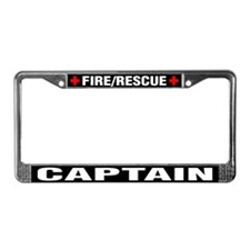 Fire Captain License Plate