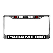 Paramedic Fire Rescue License Plate