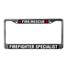 Firefighter Specialist License Plate
