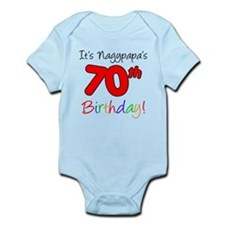 Nagypapa 70th Birthday Body Suit