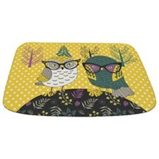 Trendy Owls Bathmat