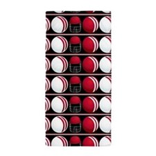 Cricket Balls And Helmet Beach Towel