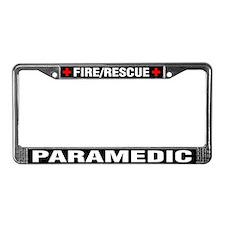 Paramedic Fire Rescue License Plate