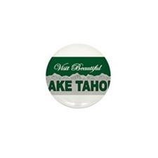 Visit Beautiful Lake Tahoe Mini Button (100 pack)