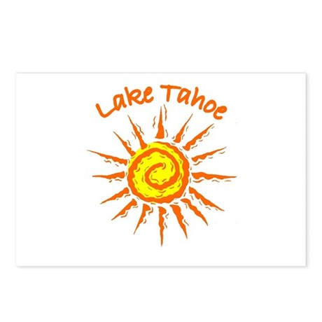 I love Tahoe Postcards (Package of 8)