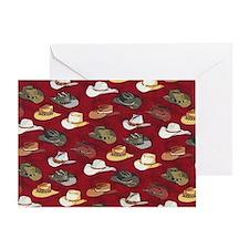 Cowboy Hats Greeting Card
