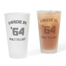 1964 Built To Last Drinking Glass