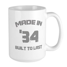 1934 Built To Last Ceramic Mugs