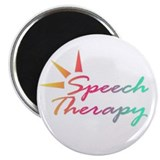 "Speech Therapy 2.25"" Magnet (10 pack)"