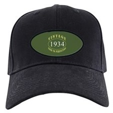 Vintage 1934 Birth Year Baseball Hat