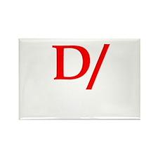 Dominant symbol Rectangle Magnet (10 pack)