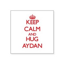 Keep Calm and HUG Aydan Sticker