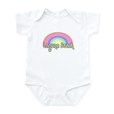 Laguna Beach, California Infant Bodysuit