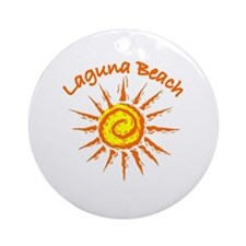 Laguna Beach, California Ornament (Round)
