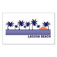 Laguna Beach, California Rectangle Decal