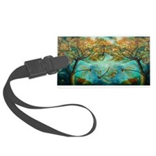 Dragonfly Flirtation Luggage Tag