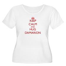 Keep Calm and HUG Damarion Plus Size T-Shirt
