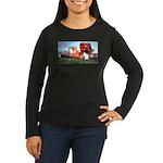 Boomershoot 2007 Women's Long Sleeve Dark T-Shirt
