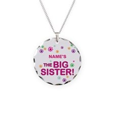 Custom Big Sister Necklace