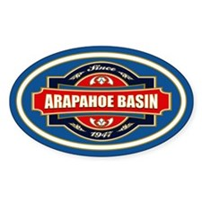 Arapahoe Basin Old Label Decal