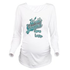Worlds Greatest Llama Lover Long Sleeve Maternity