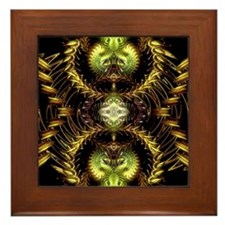 Golden Dragon Framed Tile