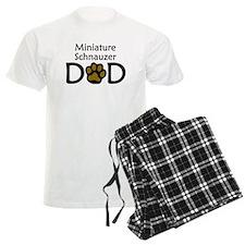 Miniature Schnauzer Dad Pajamas