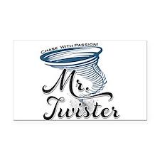 Mr Twister Rectangle Car Magnet