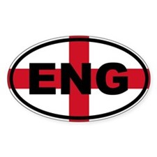 England ENG Flag Decal