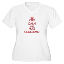 Keep Calm and HUG Guillermo Plus Size T-Shirt