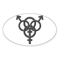 Swinger Oval Decal