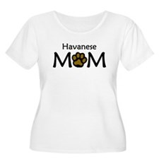 Havanese Mom Plus Size T-Shirt