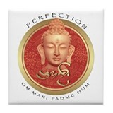 Perfection Buddha Tile Coaster
