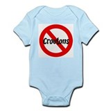 Anti Croutons Infant Bodysuit