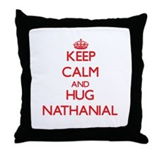 Keep Calm and HUG Nathanial Throw Pillow