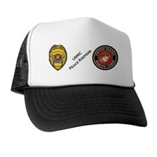 USMC Military Police MP Trucker Hat