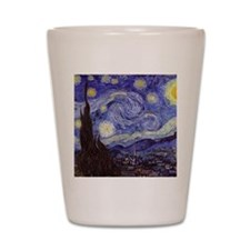Starry Night Shot Glass