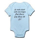 The italian Infant Bodysuit