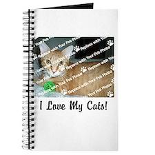 CUSTOMIZE Add Photo Love CatS Journal