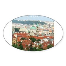 Prague Czech Republic souvenir Decal