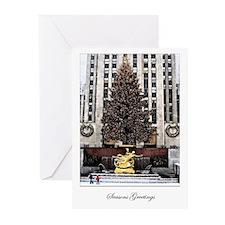 Rockefeller Center card / blank inside (pkg. of 6)