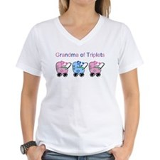 Grandma of Triplets (Girls & Boy) Shirt