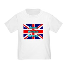 Great Britain Rocks Toddler T-Shirt