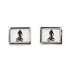 Bike Rider.Png Cufflinks