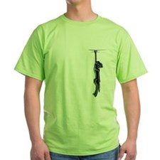 Clingy Black Lab T-Shirt