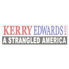 Kerry Edwards 2004 Bumper Bumper Sticker