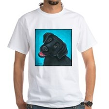 Black Lab Bunny Shirt